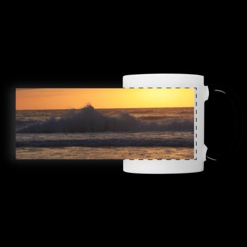 Océan - Mug panoramique contrasté et blanc