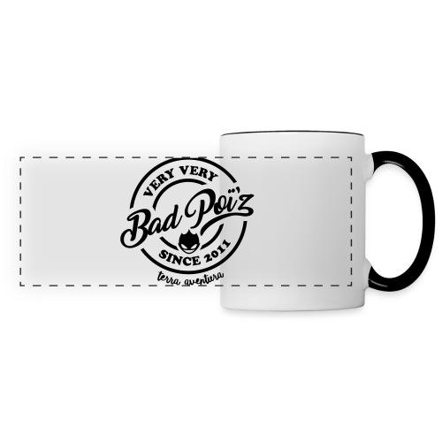 Flexographie BadPoiZ 2 - Mug panoramique contrasté et blanc