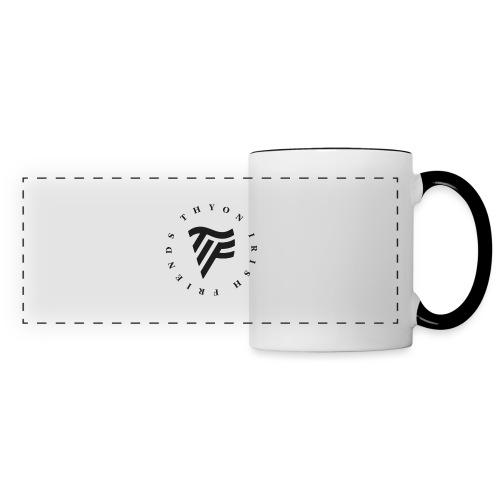 Thyon Irish Friends - Mug panoramique contrasté et blanc