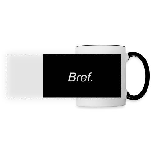 Bref - Mug panoramique contrasté et blanc