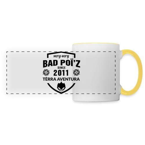 Flexographie BadPoiZ 10 - Mug panoramique contrasté et blanc