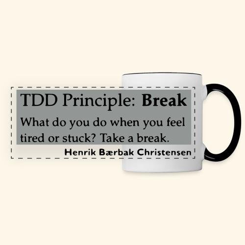 TDD Principle: Break - Panoramic Mug