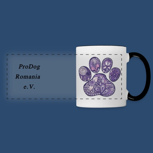 Panoramatasse dog paw prints 9 created by Jill - Panoramatasse