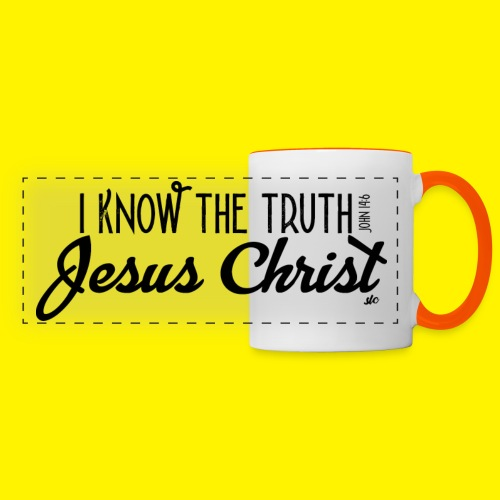 I know the truth - Jesus Christ // John 14: 6 - Panoramic Mug