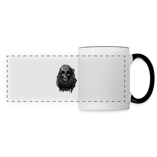Skull in Chains - Panoramic Mug