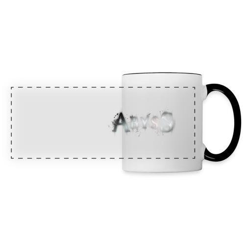 badge2 png - Mug panoramique contrasté et blanc