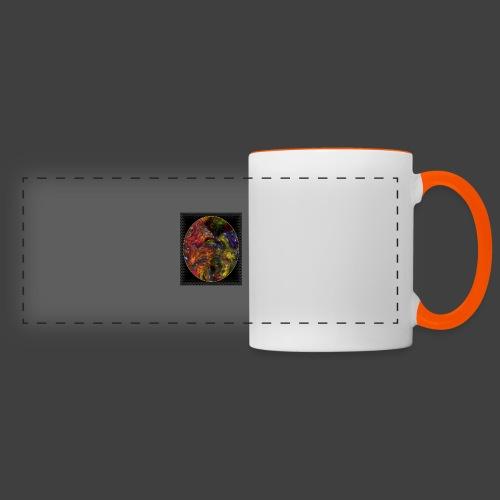 Who will arrive first - Panoramic Mug