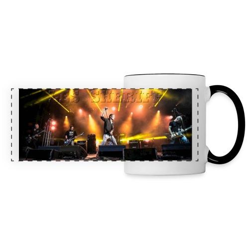 sheriff_mug - Mug panoramique contrasté et blanc