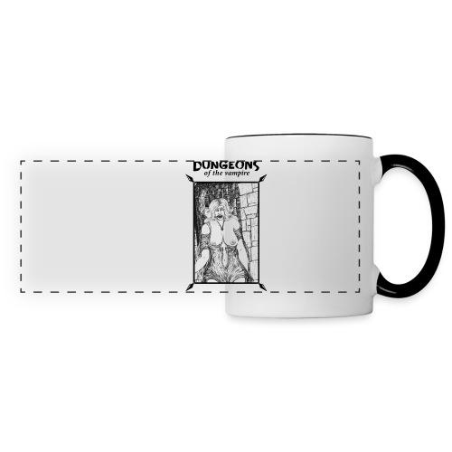 catacombs vampire black version - Panoramic Mug