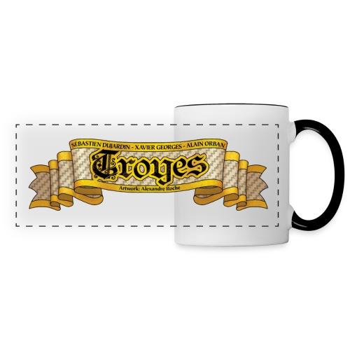 TROYES - Mug panoramique contrasté et blanc