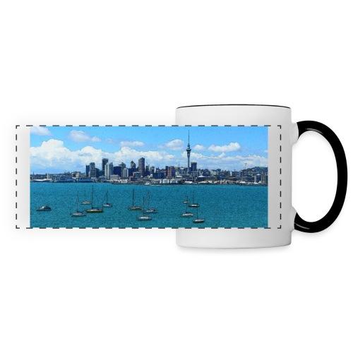 auckland bd - Mug panoramique contrasté et blanc