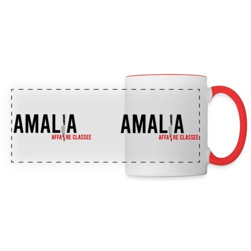 Amalia - Mug panoramique contrasté et blanc