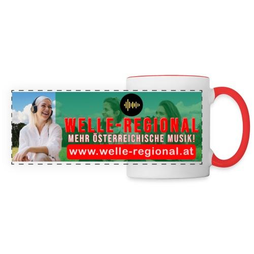 Welle-Regional Kaffeetasse - Panoramatasse