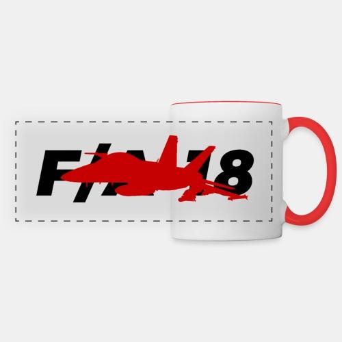 F/A-18 Super Hornet   F 18   F18   F/A18   Hornet - Panoramic Mug