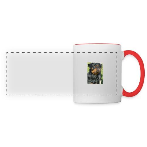 chiens Rottweiler 71612e0 - Mug panoramique contrasté et blanc