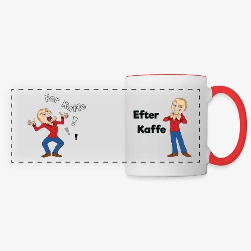 Før-Efter Kaffe, herre - Panoramakrus