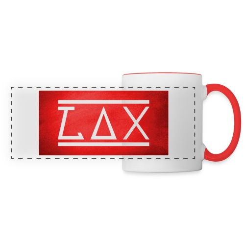 LAX LOGO COLOR RED/WHITE - Panoramatasse