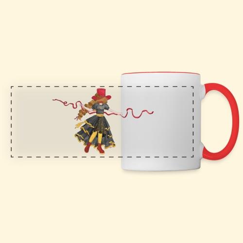 Ladybird - La célèbre uchronaute - Mug panoramique contrasté et blanc