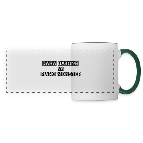 Dara DaBomb VS Piano Monster Range - Panoramic Mug