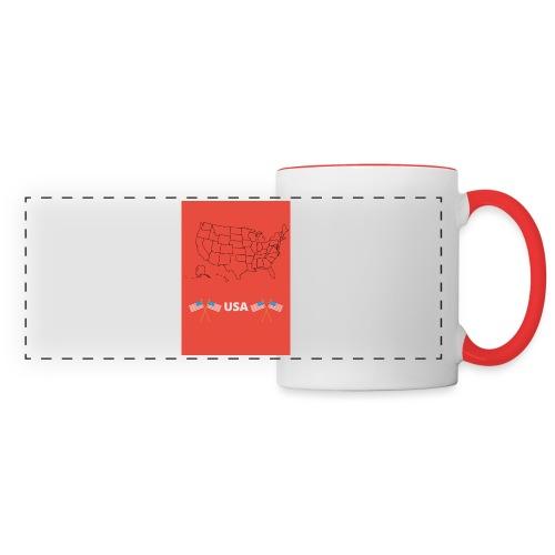 Mug USA - Mug panoramique contrasté et blanc