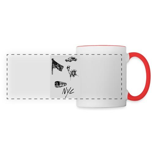 Mug New-York - Mug panoramique contrasté et blanc