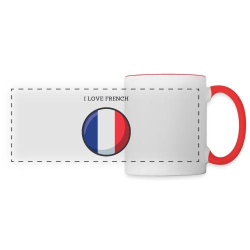 Mug French - Mug panoramique contrasté et blanc