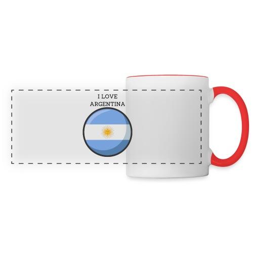 Mug Argentina - Mug panoramique contrasté et blanc