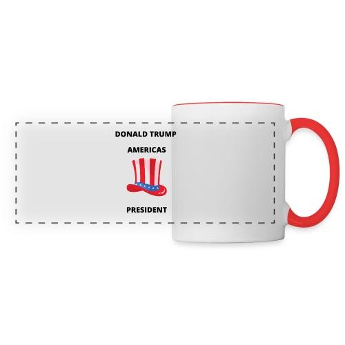Mug Donald Trump - Mug panoramique contrasté et blanc