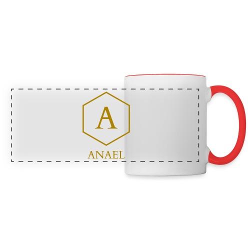 Mug Anael - Mug panoramique contrasté et blanc