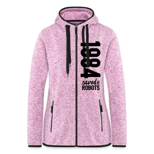 1984 / Saved By Robots Premium Tote Bag - Women's Hooded Fleece Jacket