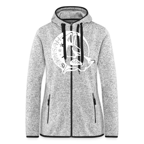 CORED Emblem - Women's Hooded Fleece Jacket