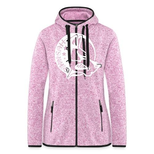 CORED Emblem - Women's Hooded Fleece Jacket