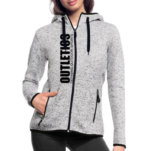 outletics def - Frauen Kapuzen-Fleecejacke