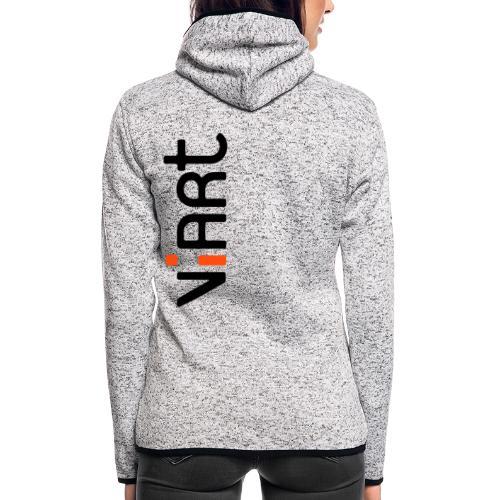 ViArt Logo - Frauen Kapuzen-Fleecejacke
