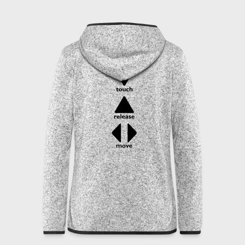 Touch Release Move - Women's Hooded Fleece Jacket