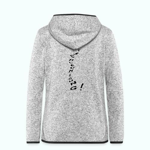 entschleunigung - Women's Hooded Fleece Jacket