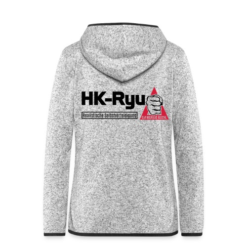 HK-RYU Basic - Frauen Kapuzen-Fleecejacke