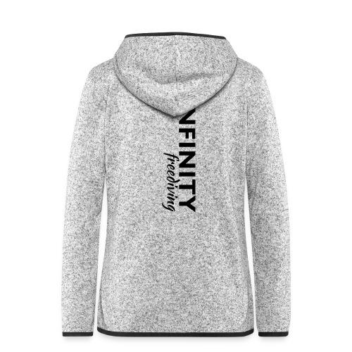 Infinity - Frauen Kapuzen-Fleecejacke