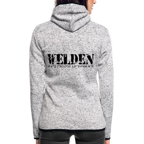 WELDEN_NE - Frauen Kapuzen-Fleecejacke