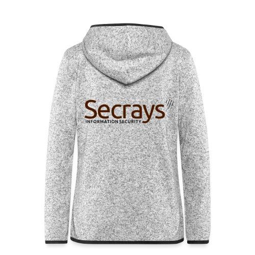 Secrays vektori logo - Naisten hupullinen fleecetakki