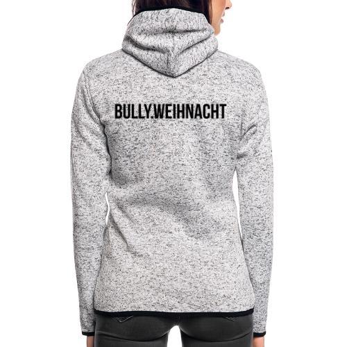 Französische Bulldogge Weihnachten - Geschenk - Frauen Kapuzen-Fleecejacke