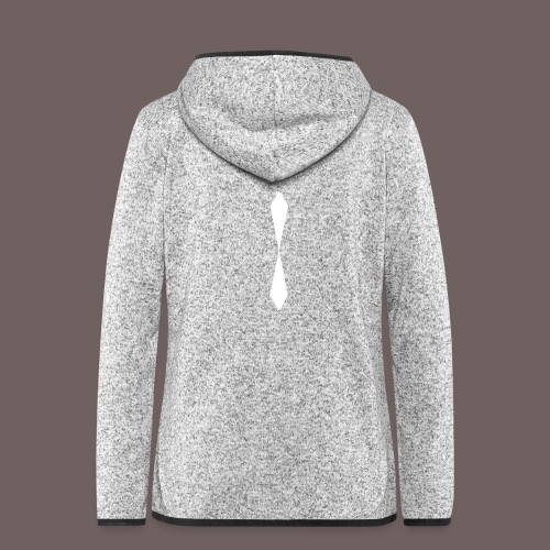 GBIGBO zjebeezjeboo - Rock - Diamond [FlexPrint] - Veste à capuche polaire pour femmes