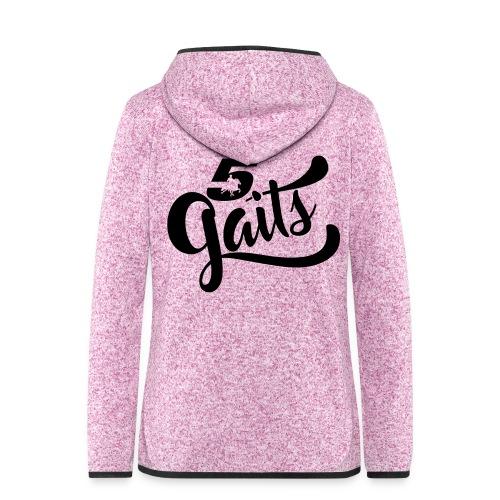 5Gaits 1 - Women's Hooded Fleece Jacket