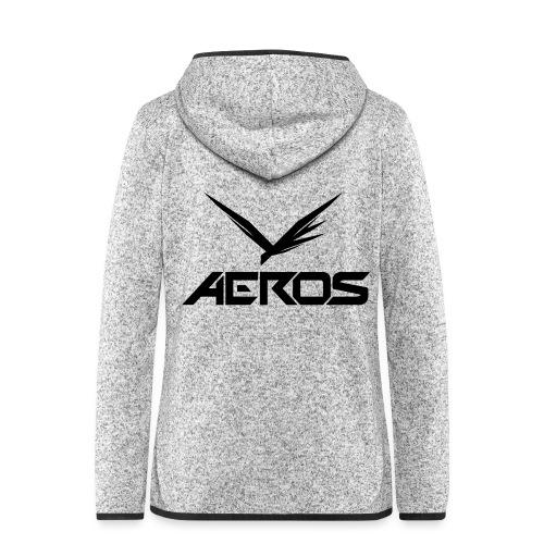 Aeros LOGO 2016 final - Vrouwen hoodie fleecejack