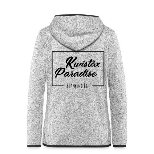 Cuistax Paradise - Veste à capuche polaire pour femmes
