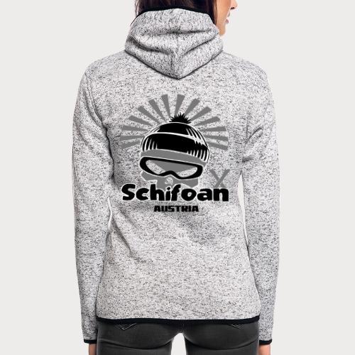 schifoan - Frauen Kapuzen-Fleecejacke