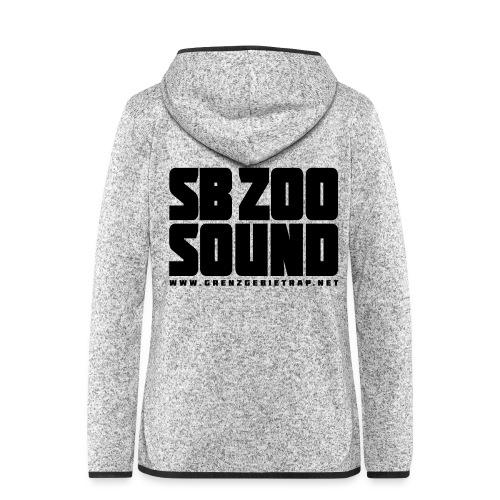 SB ZOO SOUND Blockbuster - Frauen Kapuzen-Fleecejacke