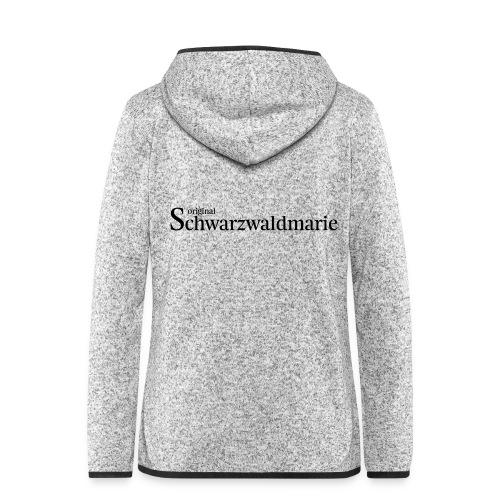 Schwarzwaldmarie - Frauen Kapuzen-Fleecejacke