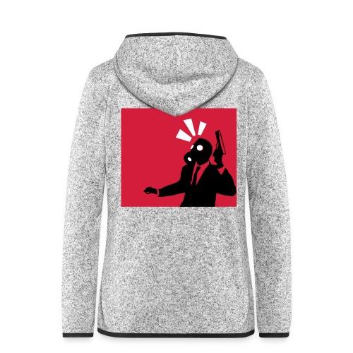 Gasmask - Women's Hooded Fleece Jacket