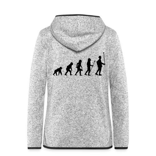 Stabführer Evolution - Frauen Kapuzen-Fleecejacke